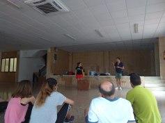 Sesión de Teatro de la Muerte con Miquel Mateu